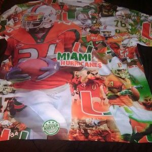 Other - New without tag Miami Hurricanes T-shirts